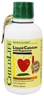 Child Life Essentials - Liquid Calcium with Magnesium Natural Orange Flavor - 16 oz.