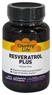 Country Life - Resveratrol Plus - 60 Vegetarian