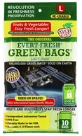 Evert-Fresh Green Bags 10-Count
