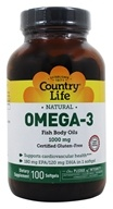 Country Life - Natural Omega-3 Fish Body Oils