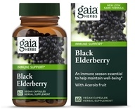 Black Elderberry Liquid Phyto Capsules