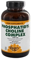 Country Life - Phosphatidyl Choline Complex 1200 mg.