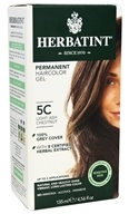 Herbal Haircolor Permanent Gel 5C Light Ash Chestnut
