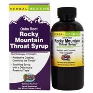 Rocky Mountain Osha Root Cough Syrup Professional Strength