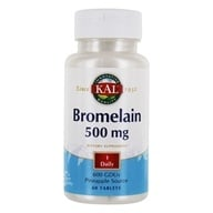 Kal - Bromelain 500 mg. - 60 Tablets