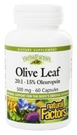 Natural Factors - Olive Leaf Extract 500 mg.