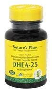 Nature's Plus - DHEA-25 with Bioperine 25 mg.