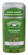 Nature's Gate - Deodorant Stick Herbal Blend Aluminum