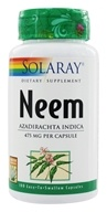 Solaray - Neem 475 mg. - 100 Capsules