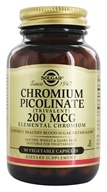 Chromium Picolinate Trivalent Elemental Chromium