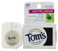 Tom's of Maine - Antiplaque Flat Floss Spearmint