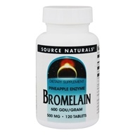 Source Naturals - Bromelain Pineapple Enzyme 600 GDU/Gram