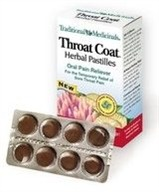 DROPPED: Throat Coat Herbal Pastilles - 24 Lozenges