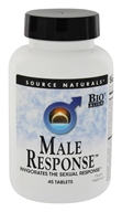 Source Naturals - Male Response - 45 Tablets