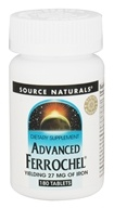 Source Naturals - Advanced Ferrochel Yielding 27 mg