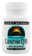 Source Naturals - Coenzyme Q10 with Bioperine 100