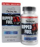 Twinlab - Ripped Fuel 5X Metabolic Accelerator -
