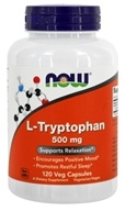 NOW Foods - L-Tryptophan 500 mg. - 120