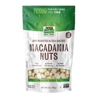NOW Foods - Macadamia Nuts Dry Roasted &