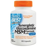 Doctor's Best - Synergistic Glucosamine/MSM Formula - 180