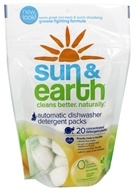 Sun & Earth - Automatic Dishwasher Detergent Packs