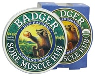 Badger - Sore Muscle Rub Cooling Blend -