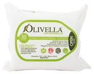 Olivella - Daily Facial Cleansing Tissues - 30
