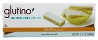 Glutino - Gluten Free Wafer Cookies Lemon -
