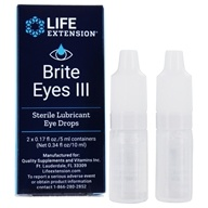 Life Extension - Brite Eyes III Sterile Lubricant