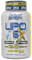 DROPPED: Lipo 6X - 120 Capsules CLEARANCE PRICED