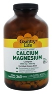 Country Life - Target-Mins Calcium-Magnesium Complex 1000 mg