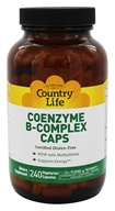 Country Life - Coenzyme B-Complex Caps - 240