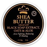 Shea Butter Infused With Black Soap Extract, Oats & Aloe