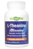 Enzymatic Therapy - L-Theanine Suntheanine - 180 Vegetarian