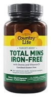 Target-Mins Total Mins Multi-Mineral Complex with Boron and Vitamin D Iron-Free