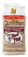 Gluten-Free Creamy Brown Rice Farina Hot Cereal