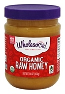 Wholesome! - Organic Raw Honey - 16 oz.