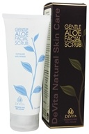 Natural Skin Care Gentle Aloe Facial Scrub