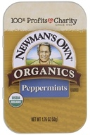 Newman's Own Organics - Mints Tin Peppermint -