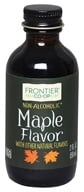 Frontier Natural Products - All-Natural Alcohol-Free Flavor Maple