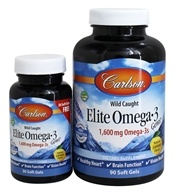 Carlson Labs - Norwegian Elite Omega-3 Gems Fish