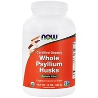 Whole Psyllium Husks Intestinal Health 100% Certified Organic