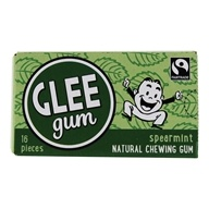 Glee Gum - All Natural Chewing Gum Spearmint