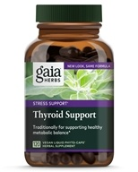 Gaia Herbs - Thyroid Support Liquid Phyto-Caps -