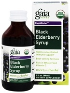 Gaia Herbs - Rapid Relief Immune Support Black