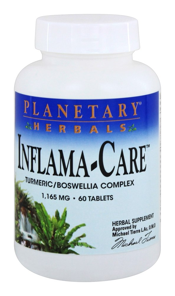 Buy Planetary Herbals - Inflama-Care Turmeric/Boswellia Complex 1165