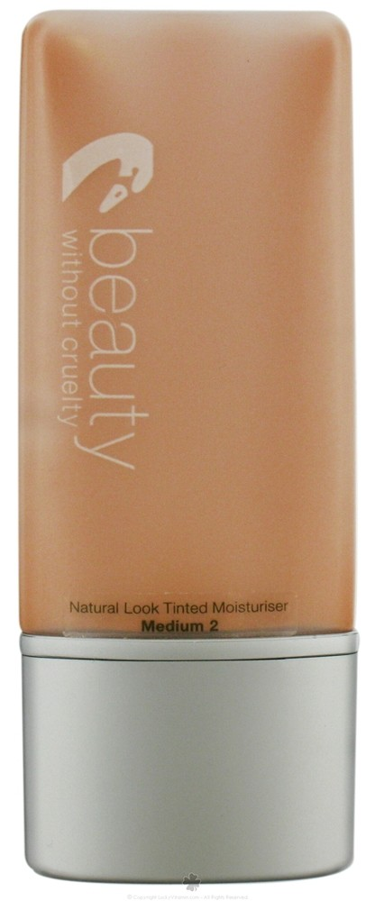Beauty Without Cruelty - Natural Look Tinted Moisturizers Medium, 1.1 oz Evolu - Relaxing Creme Cleanser - 125ml/4oz