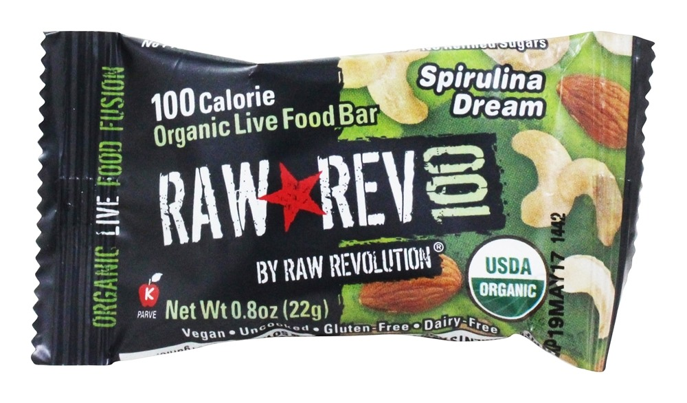 Buy raw rev organic live food bar raw rev 100 calorie for Live food bar yelp