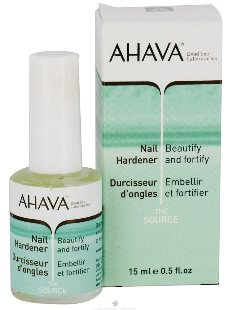 Buy AHAVA - The Source Nail Hardener - 0.5 oz. at LuckyVitamin.com