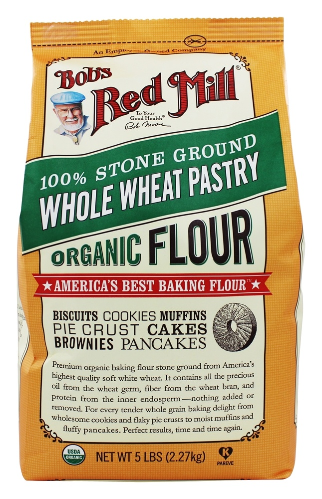 Buy Bob's Red Mill - Organic Whole Wheat Pastry Flour - 5